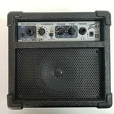 PEAVY GT5 ROCKMASTER Guitar Amplifier Practice Portable Speaker 9V Battery Power