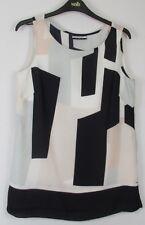 New Women's Wallis Colourblock Tunic Top - Size 8 - 18