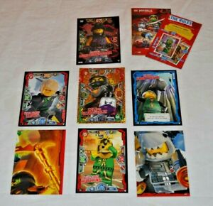 Lego Ninjago Trading Cards Series 3 Job Lot x 7 Cards Includes Ltd. Ed. LE14