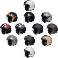 Shoei JO J-O Open Face Jet Retro Urban Motorcycle Helmet | All Colours & Sizes