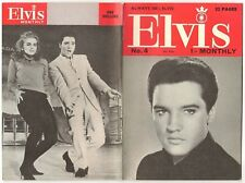 ELVIS MONTHLY 5th YEAR FIFTH SERIES No. 4  APRIL 1964 - VIVA LAS VEGAS PICTURES