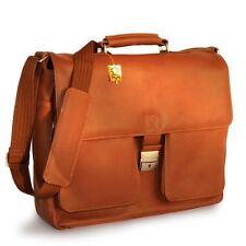 Aktenkoffer & -taschen aus Leder mit Laptopfach