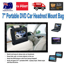 "Universal Portable DVD Car Mount for 7"" Portables and Dual Screen DVD Players"