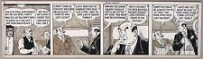 MICKEY FINN by Lank Leonard. Original Comic Strip Art, 1940?
