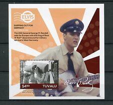Tuvalu 2016 MNH Elvis Presley His Life in Stamps 1v S/S II Military Service