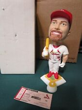 Mark McGwire Bobble Head 9/18/2001 Stadium Giveaway Cardinals with ticket and bx