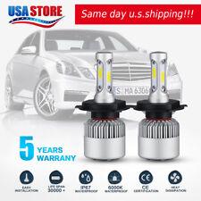 CREE COB H4 9003 HB2 LED Headlight Kit Hi-Lo 980W 147000LM Car White Light Bulbs