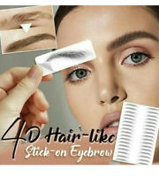 4D Hair-like Stick-On Authentic Eyebrows Waterproof Eyebrow Tattoo Sticker USA