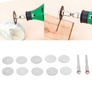 10Pcs Stainless Steel Saw Blade Cutting Wheel Disc Electric Grinder Accessories