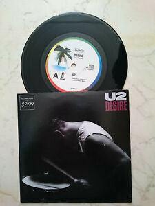 U2 Desire/Hallelujah Here Lei Comes Stampatralia / New Zealand Edizione Limitata