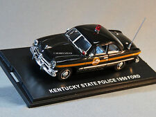MTH 1:43 DIE-CAST 1950 FORD 2 DOOR COUPE KY STATE POLICE CAR 30-50087 UNCAT