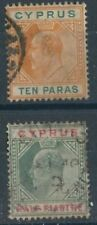 Royalty Edward VII (1902-1910) Cypriot Stamps