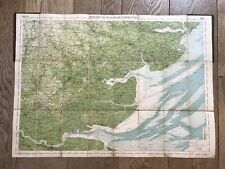 """More details for antique  map """"cycling touring club"""" of the essex  area"""