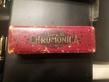 Vintage M. Hohner Super Chromonica Chromatic Harmonica w/ Original Case (670)