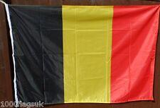 Belgio Bandiera - 2:3 Ratio con Corretta Pantone Colori Too Trasparente