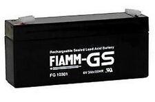 Batteria ricaricabile FIAMM 6 V 3 A FG10301