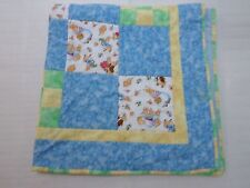 PETER RABBIT Beatrix Potter Fabric Baby Crib Quilt Blanket Nursery RARE USA Made