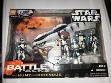 2006 Star Wars Ultimate Galactic Hunt For Grievous Clone Wars Battle Pack New