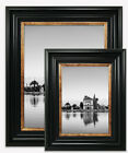 Vintage Black Photo Picture Frame Gold Style Poster Wide Large Wall Mounted Uk