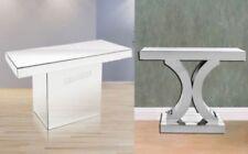 Mesas de color principal plata para el dormitorio