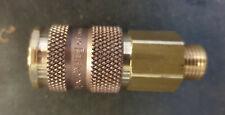 """Rectus / Parker 1/4"""" BSP 25 Series Brass Pneumatic Coupling 25KBAW13BPX3"""