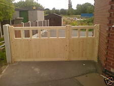 3/4 AND 1/4 DRIVEWAY GATES MADE ANY SIZE JUST ASK