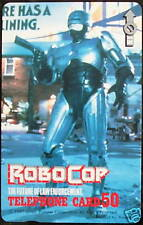 RoboCop Official Japanese Phone Card RARE NEW Promotion