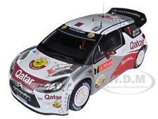 CITROEN DS3 #7 WRC RALLY PORTUGAL 2012 AL-ATTIYAH 1/18 MODEL CAR BY NOREV 181558