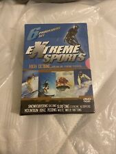 Extreme Sports DVD Box Set NEW SEALED - Skiing Snowboarding Surfing ETC - 3 Disc