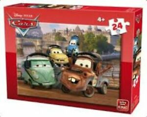 King Puzzles Disney 24 Piece Jigsaw Puzzle - Cars KNG05245