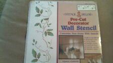"""SEALED UNUSED 1990 STENCIL DECOR WALL STENCIL - SUMMER VINES #26641 - 18"""" PRECUT"""