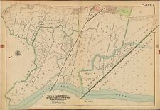 1913 EAST RUTHERFORD UNION NORTH ARLINGTON, BERGEN COUNTY, NEW JERSEY ATLAS MAP
