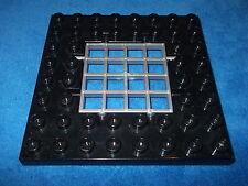 Lego Duplo Ritterburg Bauplatte Platte Schwarz 8 X 8er Noppen Gitter aus 4785 b