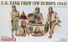 Dragon 1:35 US Tank Crew WW II Europe 1944, Kit nr. 6054
