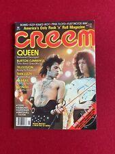 "1977, Freddie Mercury (Queen), ""Creem"" Magazine (No Label) Scarce /Vintage"