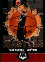 2019-20 Panini Mosaic Jam Masters #15 PAUL GEORGE Clippers