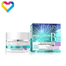 Eveline Cosmetics Hyaluron Clinic B5 60+ Wrinkle Filling Cream Day & Night 50ml