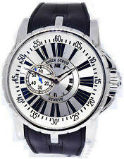 Roger Dubuis Excalliber Steel Automatic Watch & Box Limited Edition EX45 77