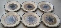 SET Of 6  LENOX PERCUSSION  TEMPER-WARE   Bread & Butter / Dessert Plates 6 1/2""