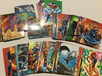 MARVEL MASTERPIECES COMPLETE 100 BASE TRADING CARDS SET SKYBOX 1992