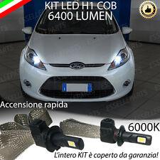 KIT LED H1 FORD FIESTA MK6 PRE-RESTYLING FARO LENTICOLARE 6000K ABBAGLIANTI