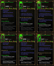Diablo 3 RoS PS4 [SOFTCORE] - All Crusader Ancient Class Sets [Check Images]