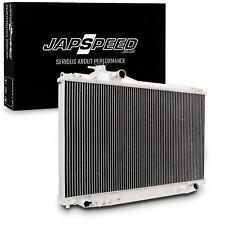 JAPSPEED ALUMINIUM ALLOY RACE RADIATOR RAD FOR TOYOTA SOARER 1JZ 2.5 TWIN TURBO