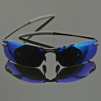 HD Polarized Sunglasses Mens Driving Fishing Glasses UV400 Outdoor Sport Eyewear