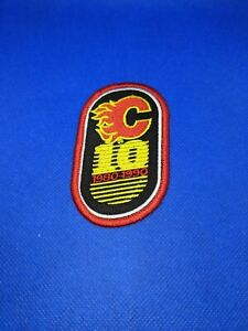Calgary Flames 10th Anniversary Patch