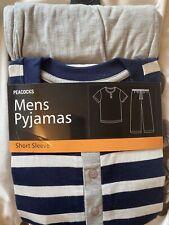 Men's Short Sleeve Pyjamas Large. New In Packaging