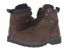 "Wolverine Floorhand Dark Brown W10643 6"" Waterproof Work Boot Medium / Wide"