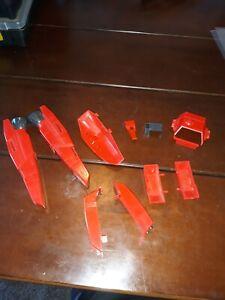Transformers G1 Jetfire armor including the rare gun clip