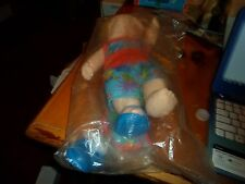 RARE Employee Only? Cabbage Patch Kid Doll on sealed Bag Beach Theme all plastic