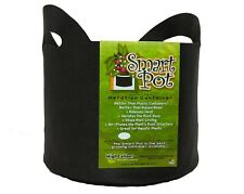 Smart Pot 20 Gallon Black With Handles Soft-Sided Aeration Container 5 Pack